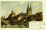 Regensburg – vom Oberen Worth aus