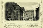 Augsburg – Carolinenstrasse mit dem Hösslin-Haus