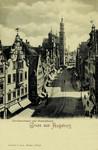 Augsburg – Karolinenstrasse und Perlachthurm