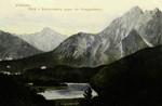 Füssen – Blick von Kalvarienberg gegen die Königschlösser