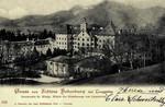 Lenggries –  Schloss Hohenburg bei Lenggries