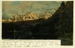 Walchensee – Wetterstein und Dreithorspitze