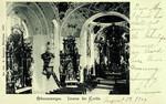 Oberammergau – Inneres der Kirche