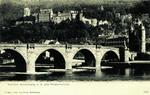 Germany – Heidelberg – Schloss Heidelberg und der Alte Brücke