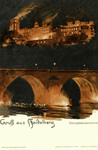 Germany – Heidelberg – Schlossbeleuchtung