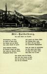 Germany – Heidelberg – Von Joseph Victor von Scheffel