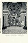 Naples – Interno della Chiesa del Gesu
