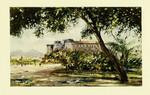 Naploli – Maschio Angioino con Vesuvius