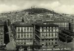 Naples – Piazza Municipio con veduta Castello S. Martino