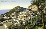 Capri – Panorama con il Castiglione