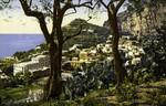 Capri – dal Castellaccio