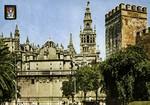 Sevilla - La Catdedral y Torre del Alcazar