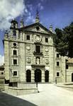 Avila - Fachada principal del Convento de Santa Teresa