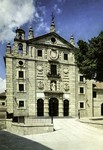 Spain - Ávila - Fachada Principal del Iglesia-convento de Santa Teresa