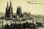Burgos - La Catedral Desde El Espolón