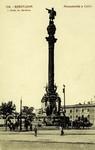 Spain - Barcelona - Monumento a Colón