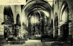 Llivia - Interior de la Iglesia
