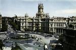 Madrid -  Plaza de la Cibeles y Palacio de Comunicaciones