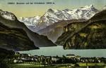 Luzern - Brunnen und der Urirotstock