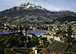 Luzern - Luzern mit Pilatus