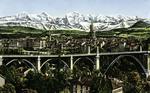Bern und die Alpen