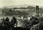 Fribourg - Blick auf Stadt und Land