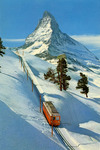 Zermatt - Gornergratbahn auf Riffelalp Matterhorn 4478 m