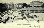 Lausanne - Place de la Riponne