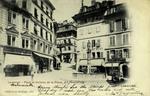 Lausanne - Place et Fontaine de la Palud