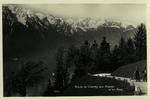Montreux - Route de Chamby aux Avants et les Alpes