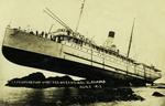 Alaska – S.S. Princess May Wrecked on Sentinel Is. Alaska Aug. 5 1910