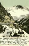 Alaska – Sawtooth Mountains from Tunnel, W.P. & Y.R.R.