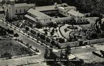 California – Aerial View of Carmelite Monastery, San Diego