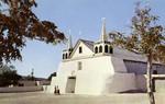 New Mexico – Old Mission Church at Isleta Pueblo, South of Albuquerque