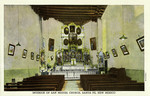 New Mexico – Interior of San Migeul Church, Santa Fe