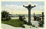 Texas – Corpus Christi, Glimpse of Corpus Christi Bay from Sun Parlor of Nueces Hotel