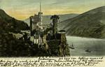 Trechtingshausen – Gruss von Burg Rheinstein