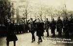 Cologne – Parade der Polizei aum dem Neumarkt, 1926.