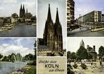 Cologne –  Rheinufer, Dom, Rudolfplatz, Eberplatz, Neumarkt