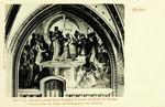 Aachen – Freskogemälde von Rethel im Krönungssaale des Rathauses