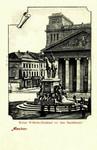 Aachen – Kaiser Wilhelm-Denkmal vor dem Stadttheater
