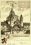 Dusseldorf – Mittelbau des Hauptgebäudes