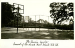California - Menlo Park - Convent of the Sacred Heart - The Tennis Courts