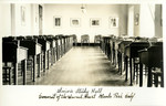 California - Menlo Park - Convent of the Sacred Heart - Senior's Study Hall