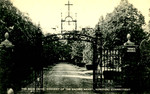 Connecticut - Noroton - Convent of the Sacred Heart - The Main Drive