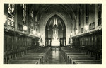 Academy of the Sacred Heart - Grosse Pointe, Michigan - Convent Chapel