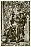 Vatican City – Basilica San Pietro – La Statua del Santo