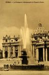 Roma – La Fontana di Michelangelo in Piazza S. Pietro