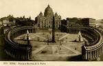 Roma – Piazza e Basilica di S. Pietro.