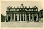 Roma – La Facciata di S. Pietro